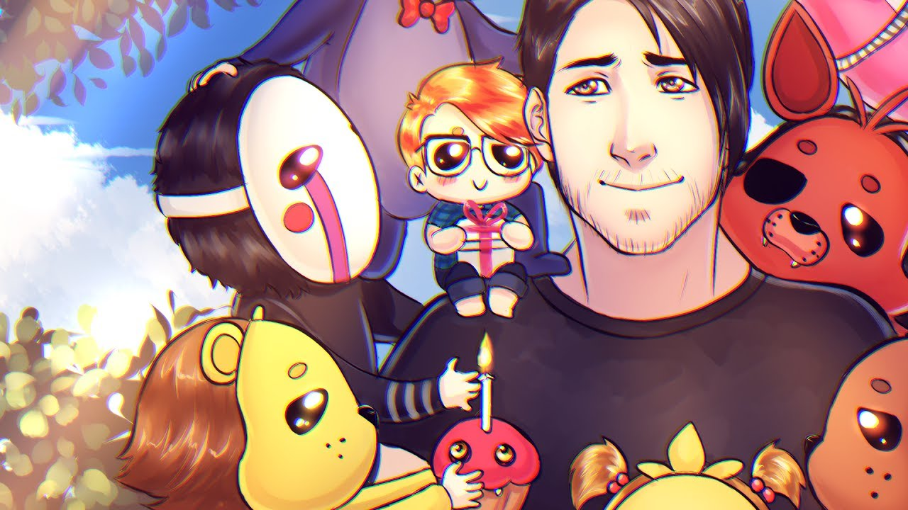 Markiplier + FNAF fan art | I WILL ALWAYS REMEMBER THIS ... Markiplier Fnaf