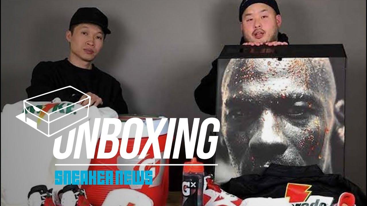 ff9f46de5c7292 Unboxing Two Insane Air Jordan Gatorade Packs. Sneaker News