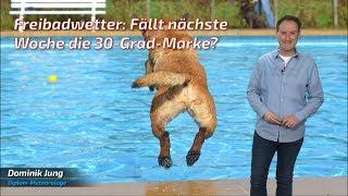 Hitze am Anmarsch: Nach Ostern könnte der Sommer Volgas geben! (Mod.: Dominik Jung)