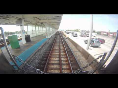 CTA Blue Line Time-lapse - Last Run of the 2200-Series Cars