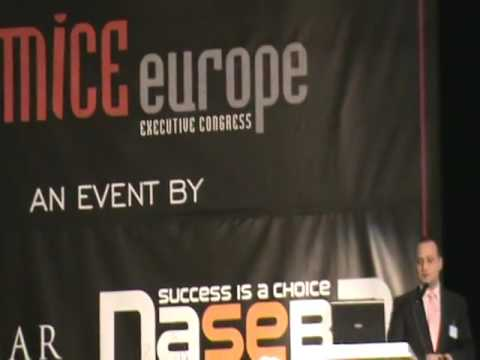 Adrian Niculescu Presentation at MICE Europe Executive Congress 7th Edition