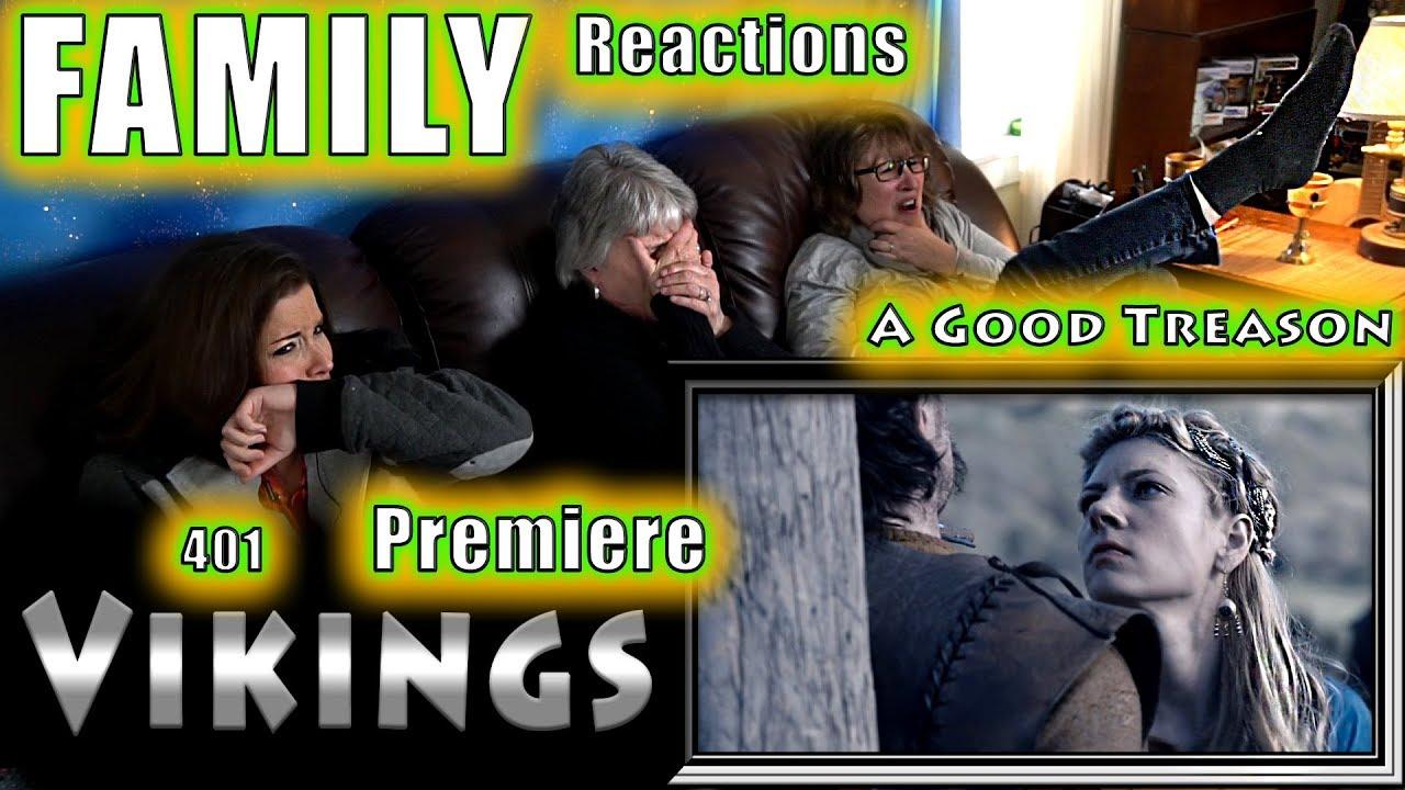 Download VIKINGS   401   A Good Treason   FAMILY Reactions   Fair Use