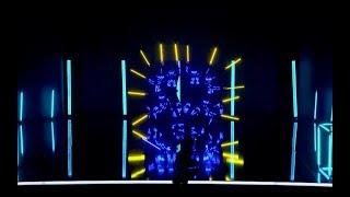 Pyroterra Lightshow - Got talent show