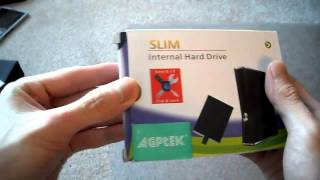 Unboxing Xbox 360 Slim Super Slim E hard Drive HDD Microsoft 250GB cheap