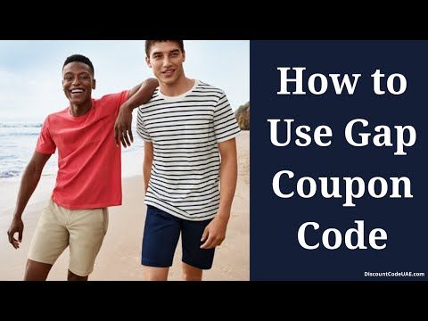 How to Use Gap Coupon Code