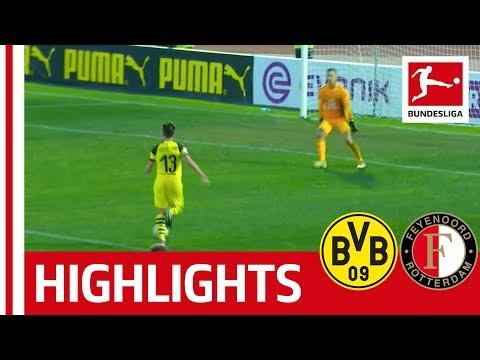 Borussia Dortmund vs. Feyenoord Rotterdam I 2-1 | Philipp and Guerreiro Strike For BVB's Win