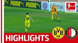 Borussia Dortmund vs. Feyenoord Rotterdam I Highlights | 2-1 | Philipp and Guerreiro Strike For BVB