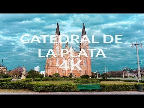 Catedral de La Plata, Argentina (4K)