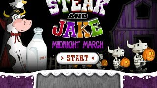 Steak And Jake Midnight March Level 1-12 Walkthrough