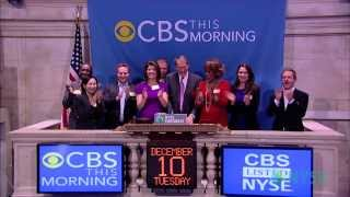 CBS THIS MORNING Co-Hosts at the NYSE