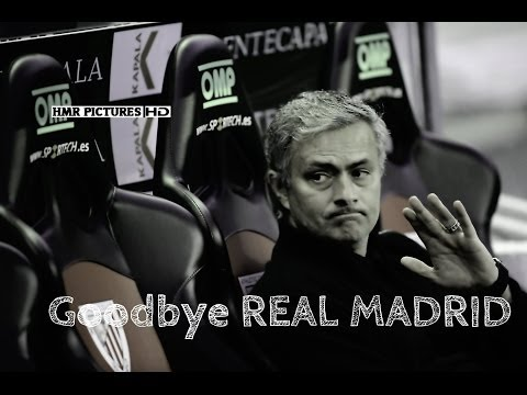 José Mourinho - GoodBye Real Madrid 2013 HD