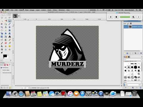 Gimp Tutorial : How To Clean Up Edges