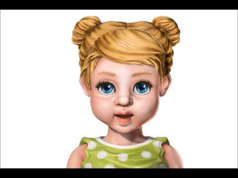 tengo una muñeca vestida de azul muñecas