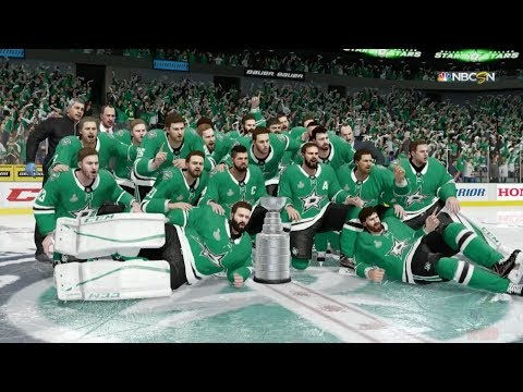 NHL 18 - Dallas Stars Stanley Cup Celebration