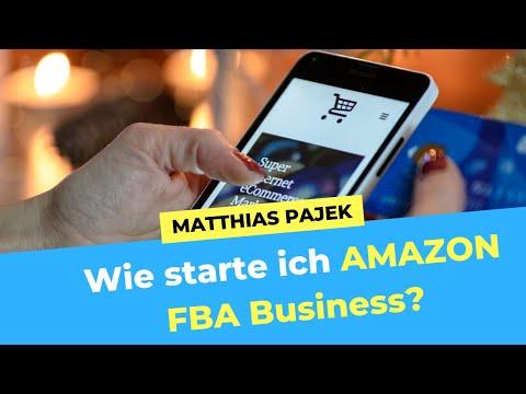 Amazon FBA Business anfangen? Wie schwierig ist es - Real Talk mit Matthias Pajek