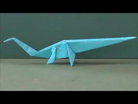 ハート 折り紙:恐竜の折り紙-youtube.com