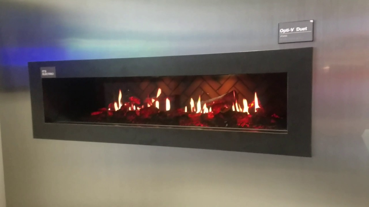 dimplex opti v electric fireplace and aquarium youtube