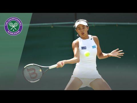 Match Point: Shuai Zhang Vs Caroline Wozniacki Wimbledon 2019