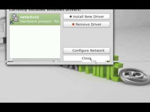Installing Windows Wireless Drivers in Linux