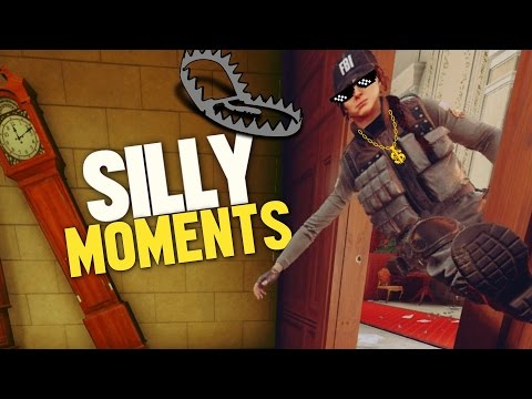 Rainbow Six Siege – Silly Moments Montage! (Big Fails, LOLS, Funny Kills & Rounds)