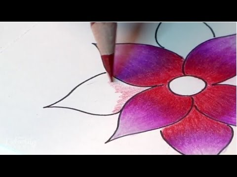 How To Blend Colored Pencils