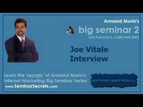 Big Seminar 2 - Armand Morin Interviews Joe Vitale