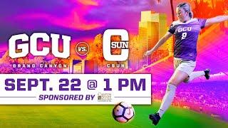 GCU Women's Soccer vs CSUN September 22, 2019