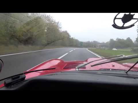 Ride in a Jaguar E-Type with Accelerations!