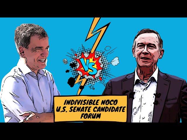Indivisible NoCo U.S. Senate Candidate Forum