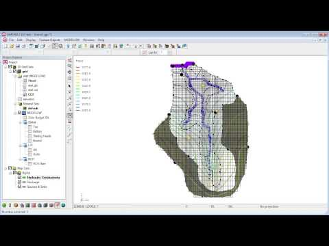 GMS: Managing MODFLOW Transient Data Tutorial