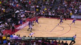 Quarter 2 One Box Video :Nets Vs. Lakers, 7/14/2017