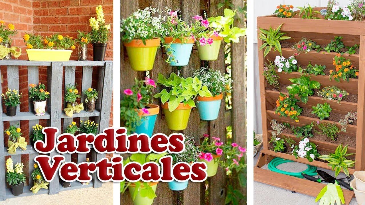 Formas Creativas Para Diseñar Un Jardín Vertical
