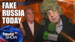 Diesem RT-Deutsch-Reporter können Sie vertrauen! | heute-show vom 12.12.2014