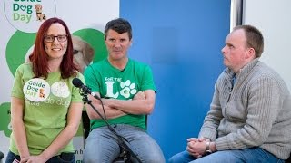 Exclusive Interview With Roy Keane For Guide Dog Day