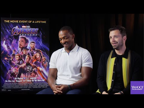 Anthony Mackie and Sebastian Stan on \'Avengers: Endgame,\' time travel and \'Hot Tub Time Machine\'