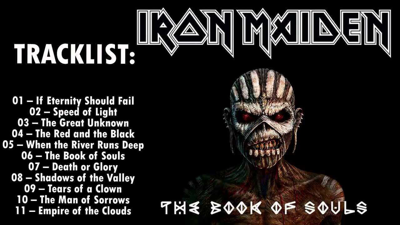 обе стороны обложки альбома The books of souls