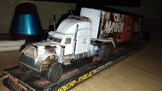 How to make RC TRUCK|Maked rc mack Truck from old toy|introduced motor and crank saft|