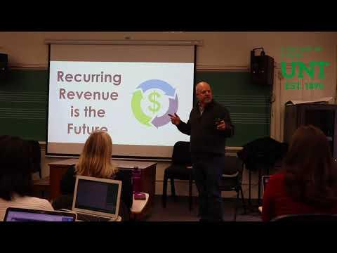 Tom Bronson - UNT Music Entrepreneurship Guest Speaker