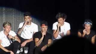 Zayn Malik high note in Last First Kiss - Hershey, PA July 6th 2013