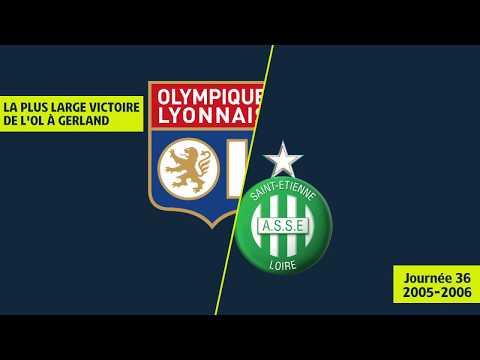La plus large victoire de l'OL à Gerland dans un Derby (4-0) OL/ASSE - 2005/2006 - Ligue 1 Legends