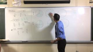 Ordering Fractions (2 of 3: How to compare fractions with different denominators)