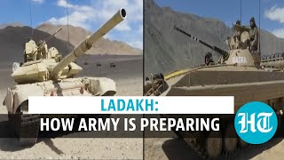 Ladakh | Tanks, combat vehicles: Indian Army ready to counter China amid tension