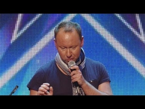 Britain's Got Talent S08E07 Allan Turner-Ward Horrible but Fun DJ