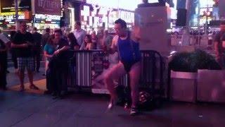 2014年にニューヨークへ武者修行へ行った時の映像が見つかりました。 音...