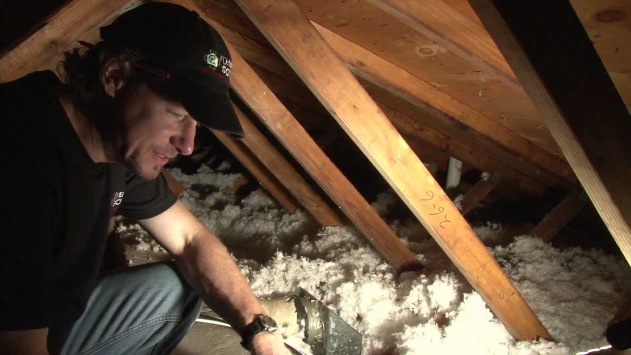 Problems With Ducts in The Attic  YouTube