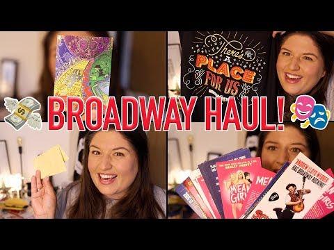 STAGEY HAUL 💸 Broadway 2017/Broadway Flea Market