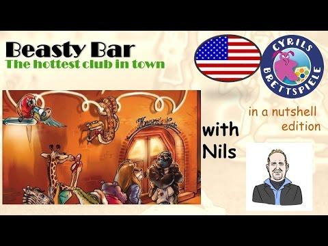 Cyrils Brettspiele - Beasty Bar-in a nutshell (N04) - In da club