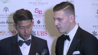 The 6th Asian Awards - Press Room - Son Heung-Min