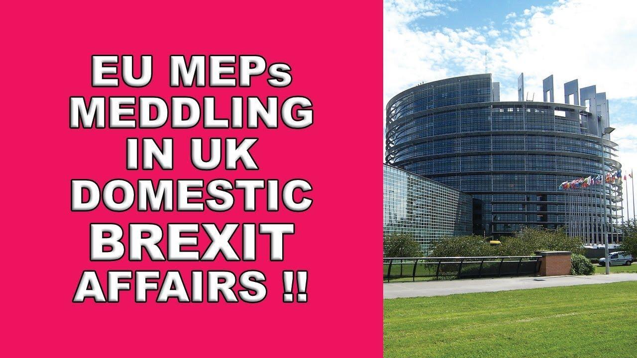 EU MEPs Interfere in Brexit!   The Economic Voice