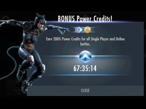 200% POWER CREDITS In Injustice Mobile! 2,000 SUB HYPE!